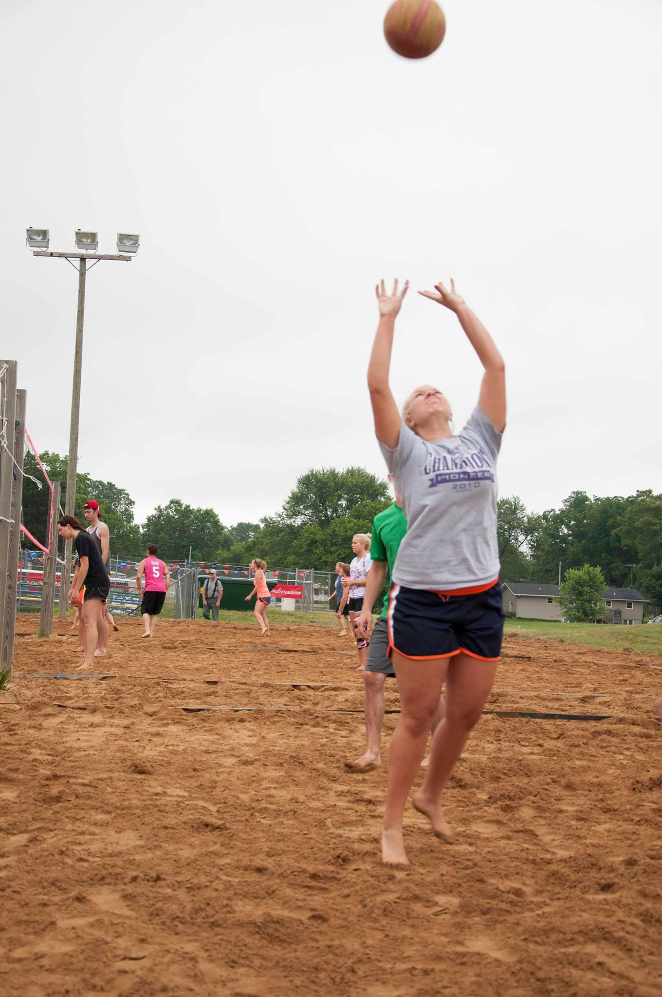 Adult Sand Volleyball Tournament Volleyball Tournaments Volleyball Game Design