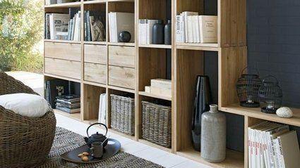 personnalisez votre int rieur avec la biblioth que oko m6 rangements pinterest interieur. Black Bedroom Furniture Sets. Home Design Ideas