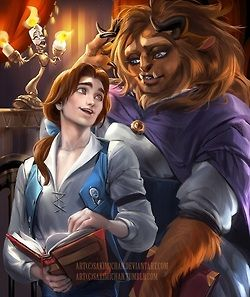 Gender Swapped, Belle and Beast