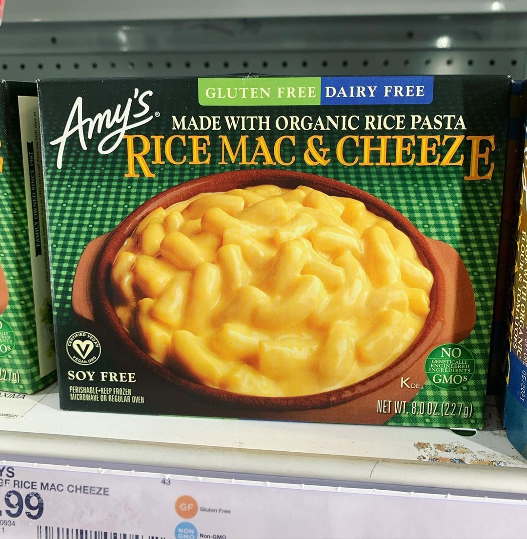 Two Vegan Mac N Cheese Options Found At Target One Frozen And One Shelf Stable Both Delicious Daiya Vegan Cheese Vegan Mac And Cheese Pasta Nutrition