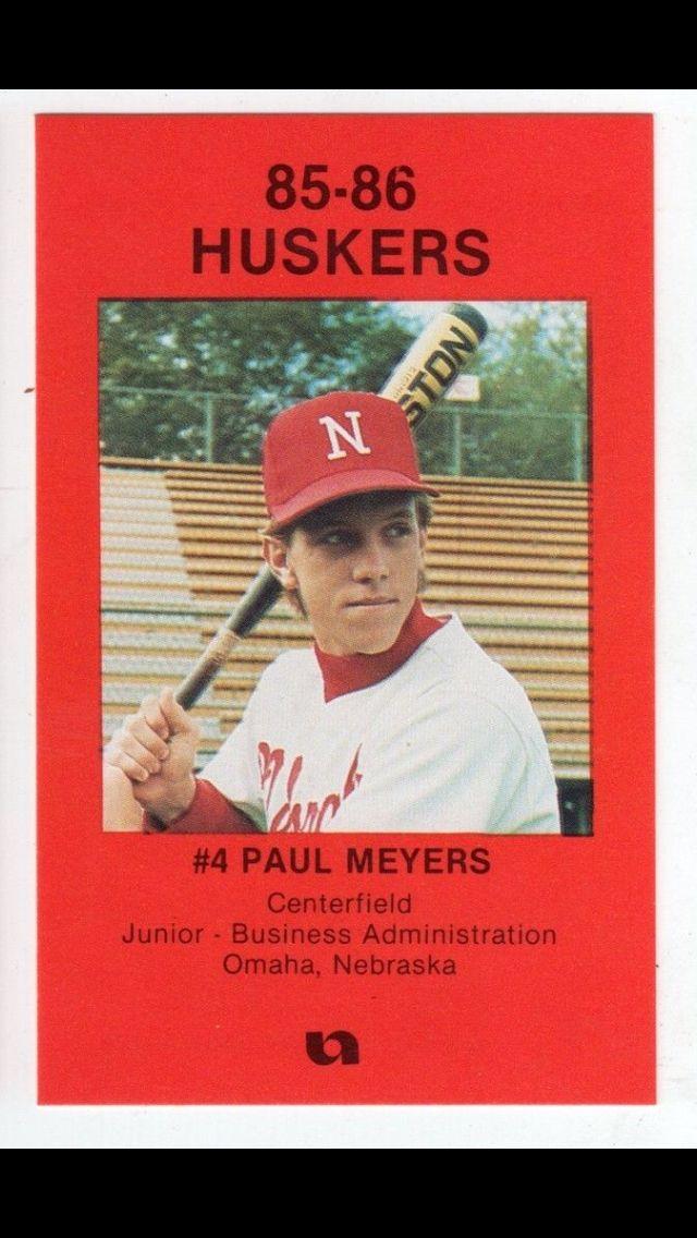 85 86 Nebraska Baseball Schedule Nebraska Baseball