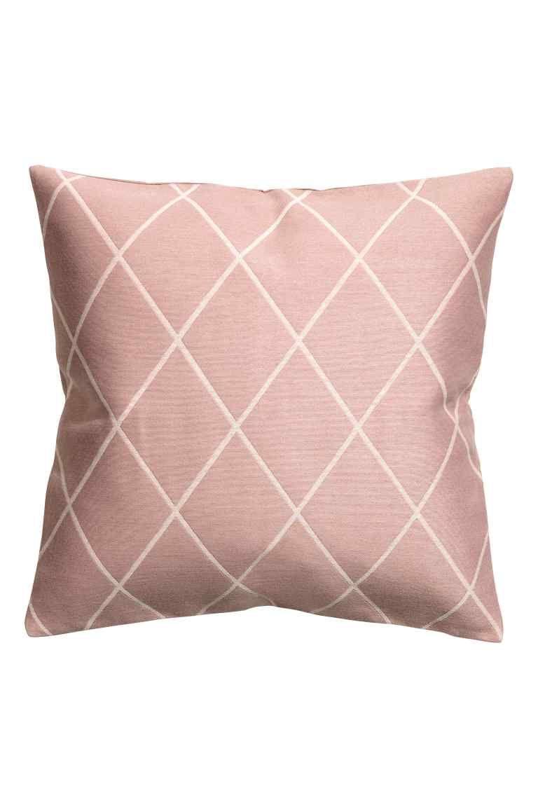 Capa de almofada em jacquard - Rosa velho - HOME | H&M PT 1
