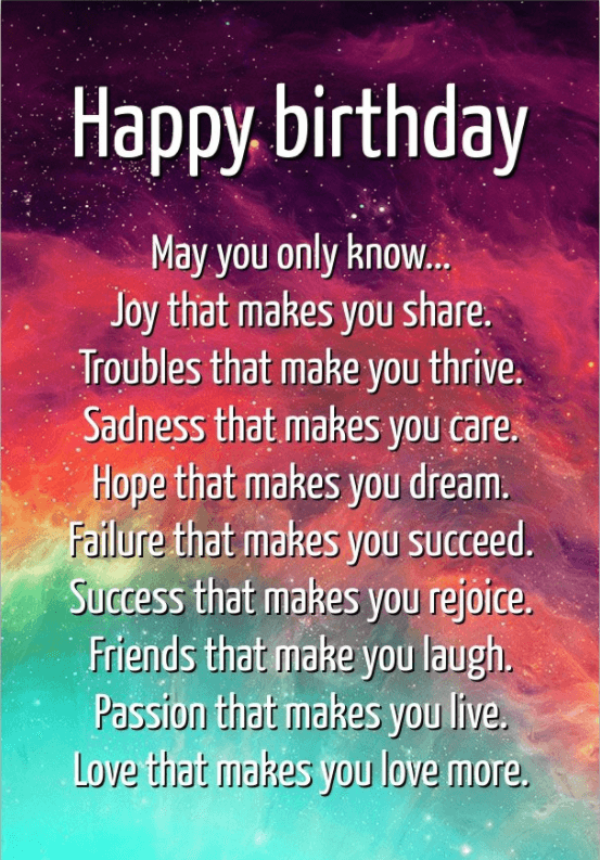 Inspirational Birthday Quotes | Birthday Inspirational Quotes For Myself Happy Birthday Quotes And