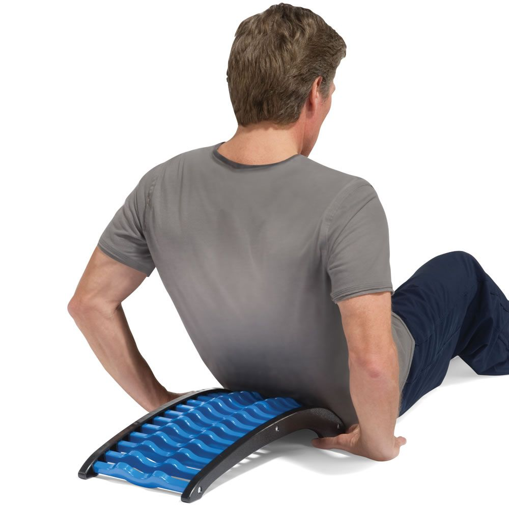 The Back Stretching Pain Reliever - Hammacher Schlemmer ...