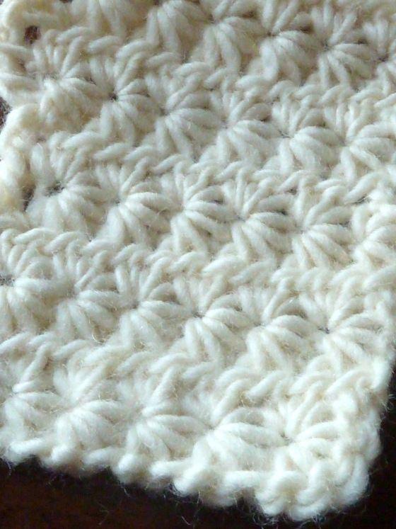 Stitch of the Week: Star (Daisy) Stitch | Puntos crochet, Tejido y ...
