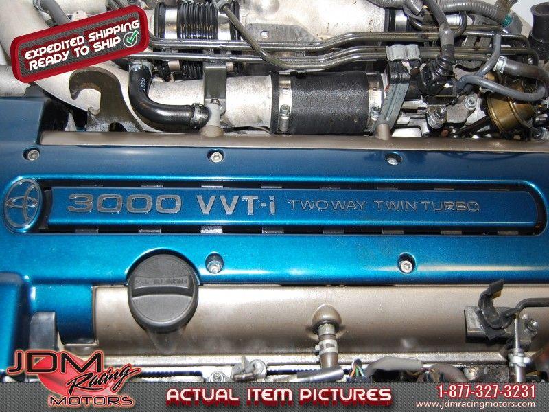 JDM Used Toyota 2JZ GTE VVTi Twin Turbo 1997-2001 Model.  Find this item only on our website: https://www.jdmracingmotors.com/engine_details/2064  Tags: #jdm #jdmracingmotors #2jz #jzengine #2jzvvti #2jzsupra #2jzmk4 #2jztwinturbo #2jztt