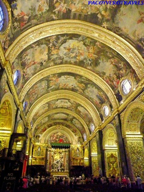 Con Catedral de San Juan La Valeta #malta http://www.pacoyverotravels.com/2014/07/la-valeta-en-un-dia-que-ver-hacer-con-ninos.html