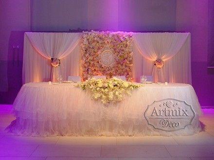 Оформление зала в Европейском стиле на свадебном торжестве ...