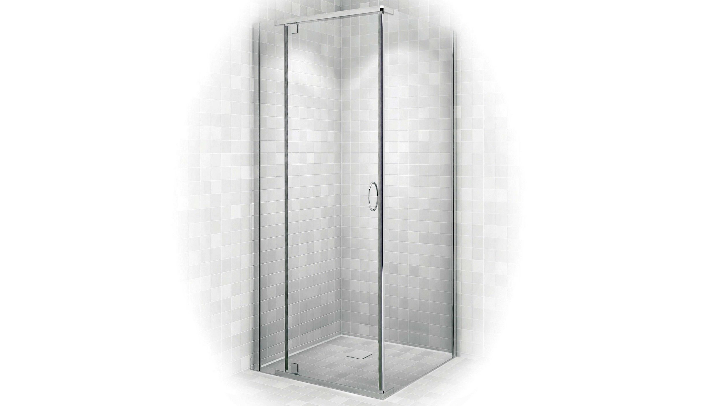 Decina Cascade 900 Chrome Shower Screen | Bathroom | Pinterest ...