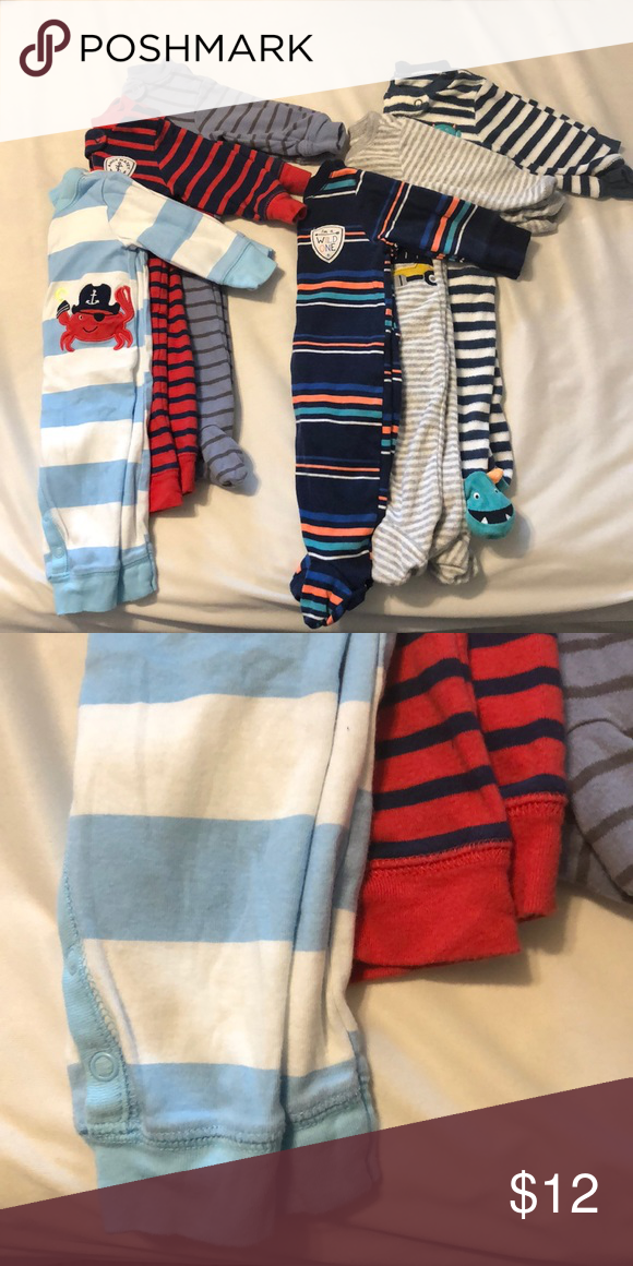 12 Piece Infant Boy 3 Month Assorted Used And New Clothes Bundle Clothing, Shoes & Accessories