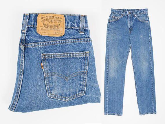 Vintage Levi's 28 Waist Size 505 Jeans zvOnAPqx