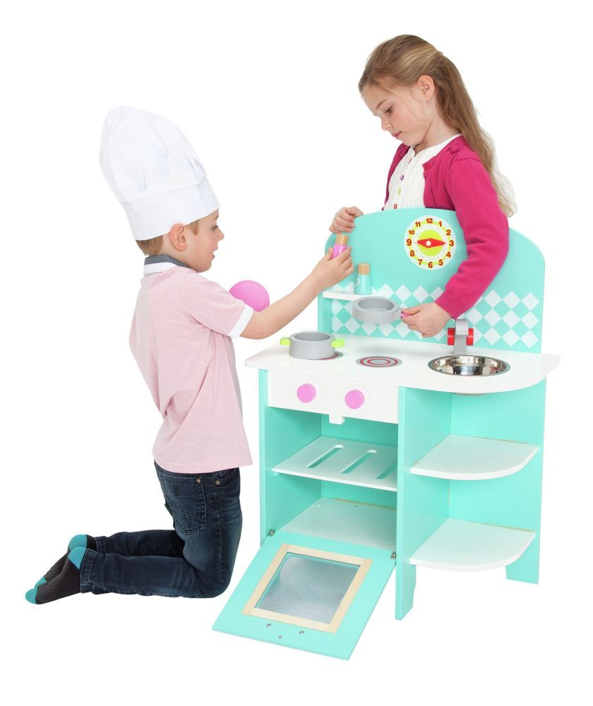 Buy Chad Valley Curved Wooden Toy Kitchen At Argos.co.uk