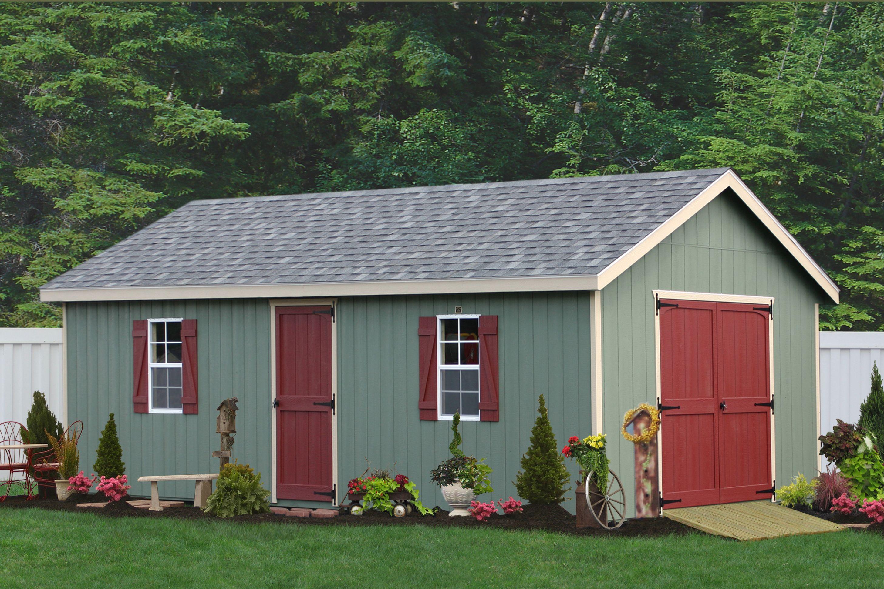 Custom Built Garden Sheds In PA, Backyard Shed Sales, Virginia Workshop  Custom Sheds