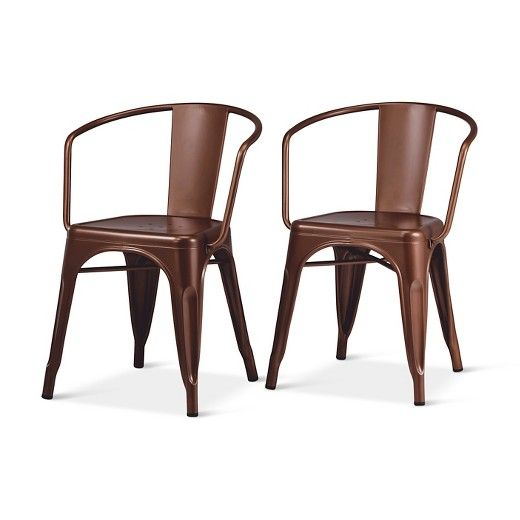 Metal Dining Chairs Industrial carlisle low back metal dining chair | carlisle, dining chairs and