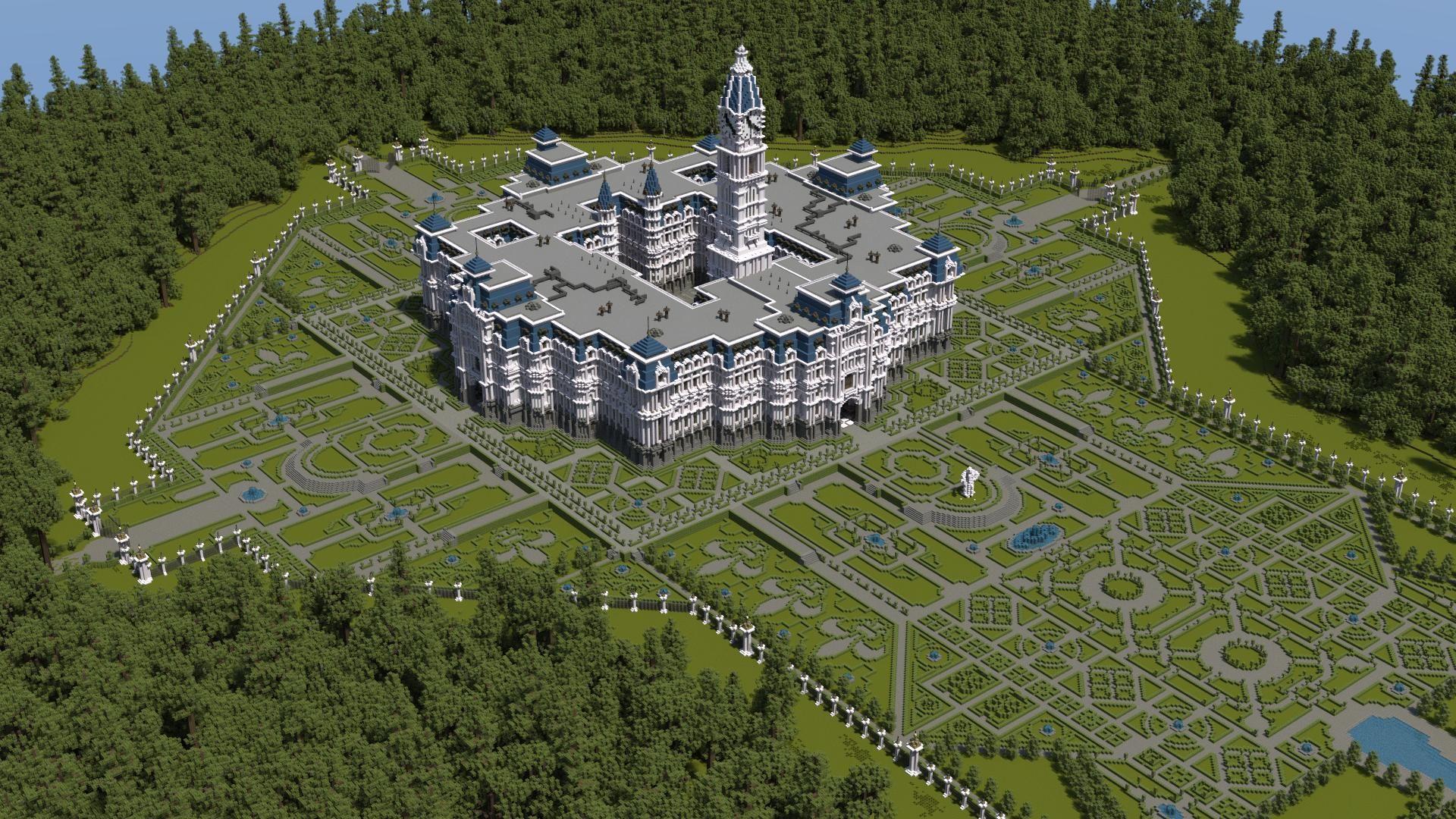Minecraft Formal Gardens Google Search Entertainment Minecraft