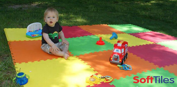 Create A Soft Play Mat For Your Baby Or Child Using Softtiles Interlocking Foam Mats