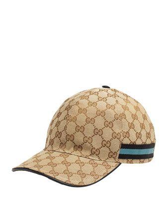 GG Canvas Baseball Hat bcfa605ff71