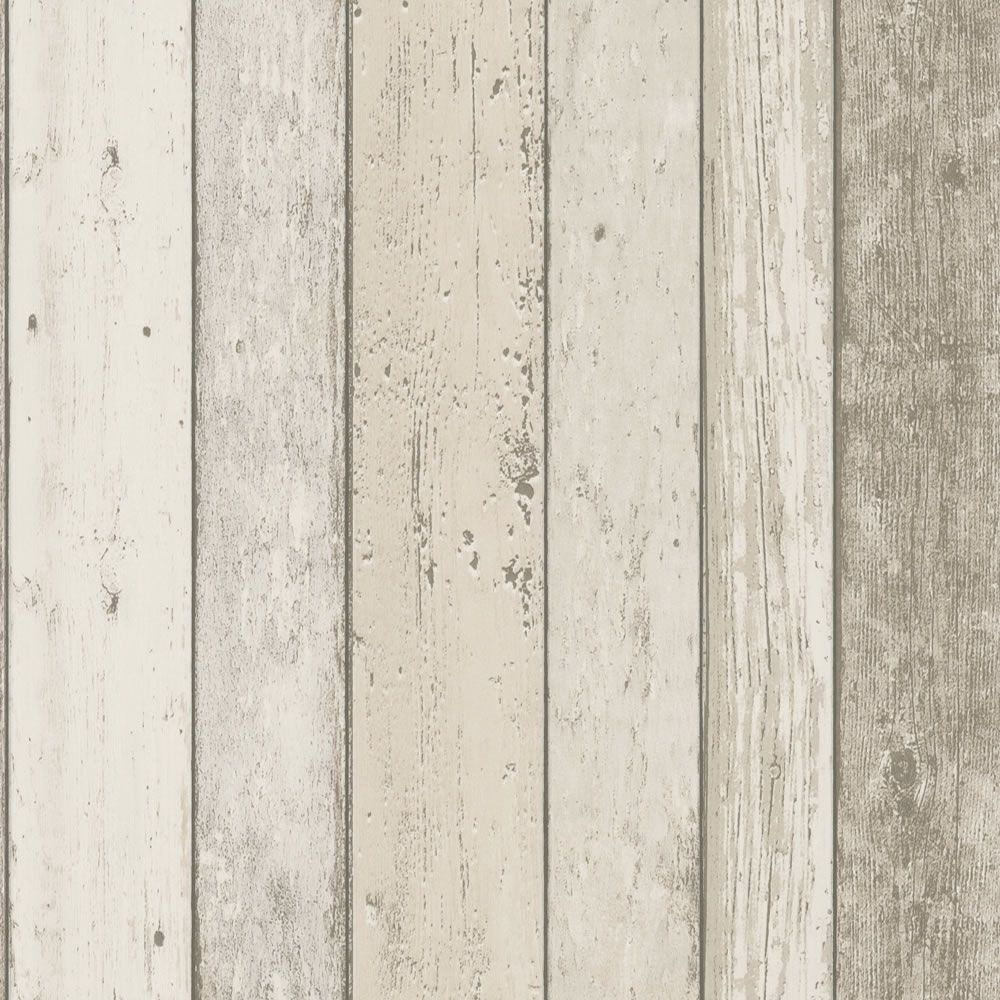 Cream 8951-10 Realistic Distressed Wood Panel New England A.S Creation  Wallpaper - Cream 8951-10 Realistic Distressed Wood Panel New England A.S