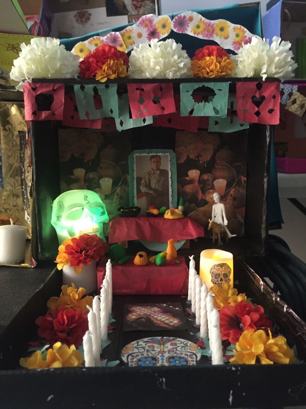 Shoe box  project for Dia de Los Muertos