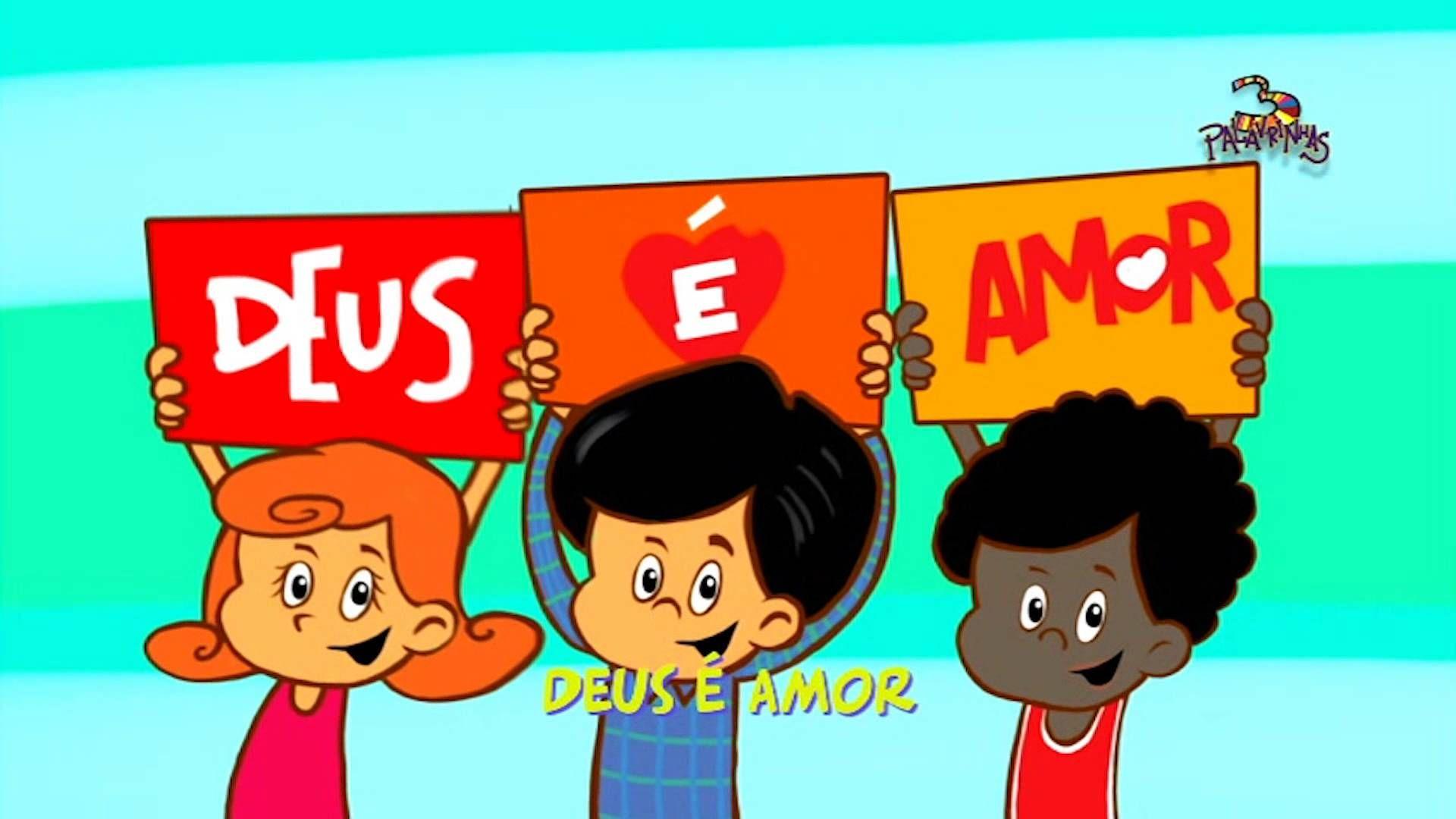 3 Palavrinhas Com Imagens Hinos Evangelicos Infantil Musicas