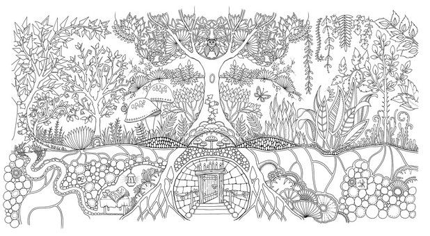 Mein Zauberwald Enchanted Forest Coloring Book Forest Colori