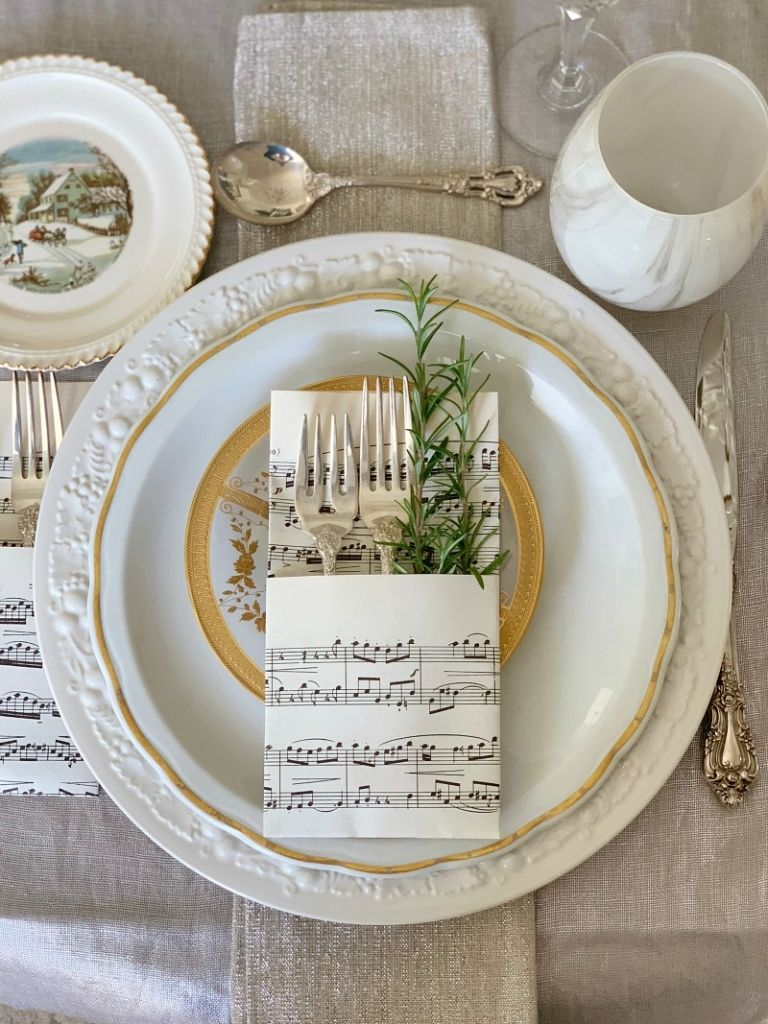 Holiday Table Decorating - Styled & Set — My Soulful Home