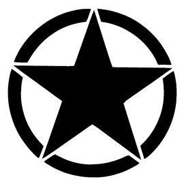 Army Star Logo Stencil Star Stencil Star Logo Stencils