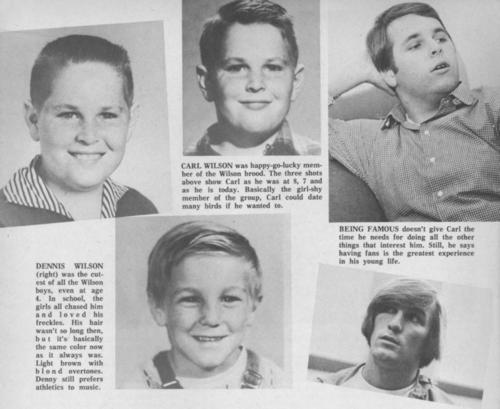 Carl and Dennis Wilson   The beach boys, Carl wilson, Dennis wilson