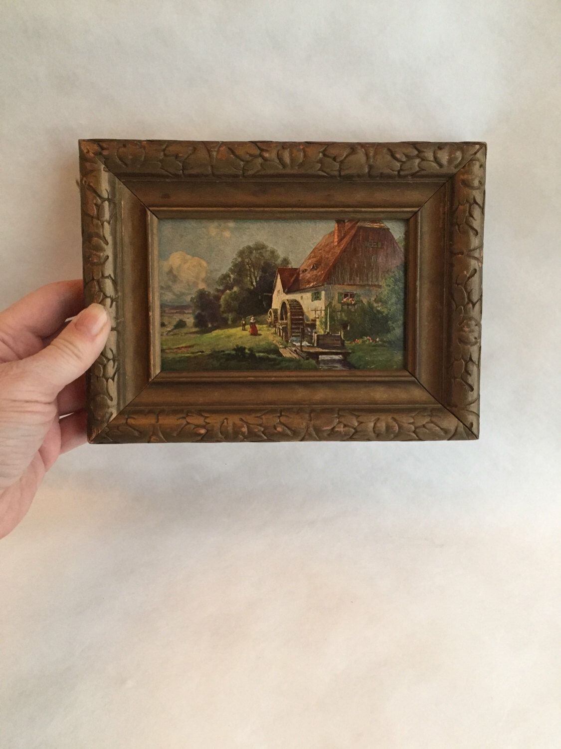 A personal favorite from my Etsy shop https://www.etsy.com/ca/listing/482561948/vintage-framed-print-gold-framed-farm