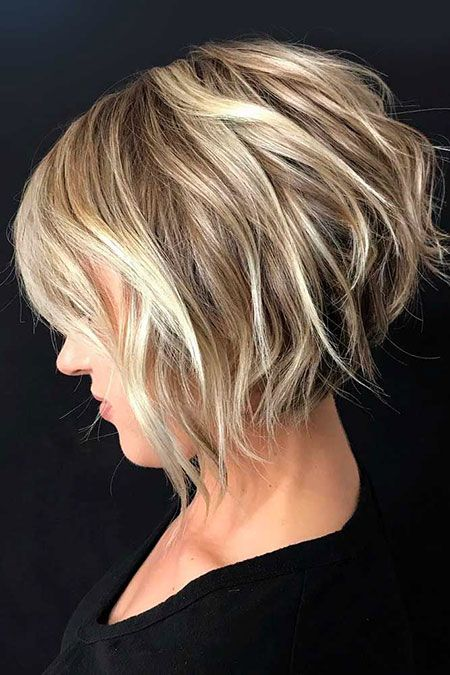 28 Short Inverted Bob Hairstyles Hair 2019 Short Shag