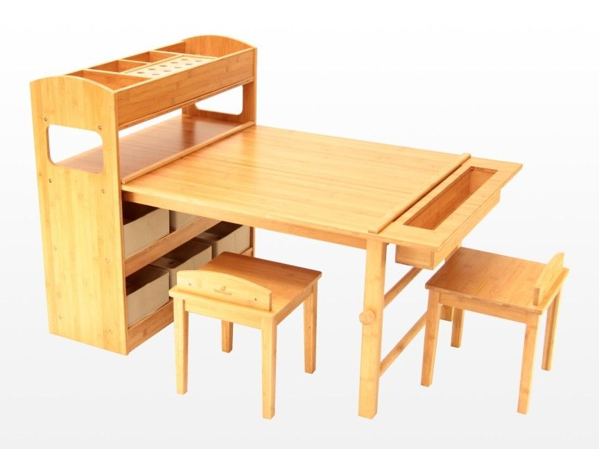 Childrens Arts And Crafts Table And Chairs A Large Tabletop