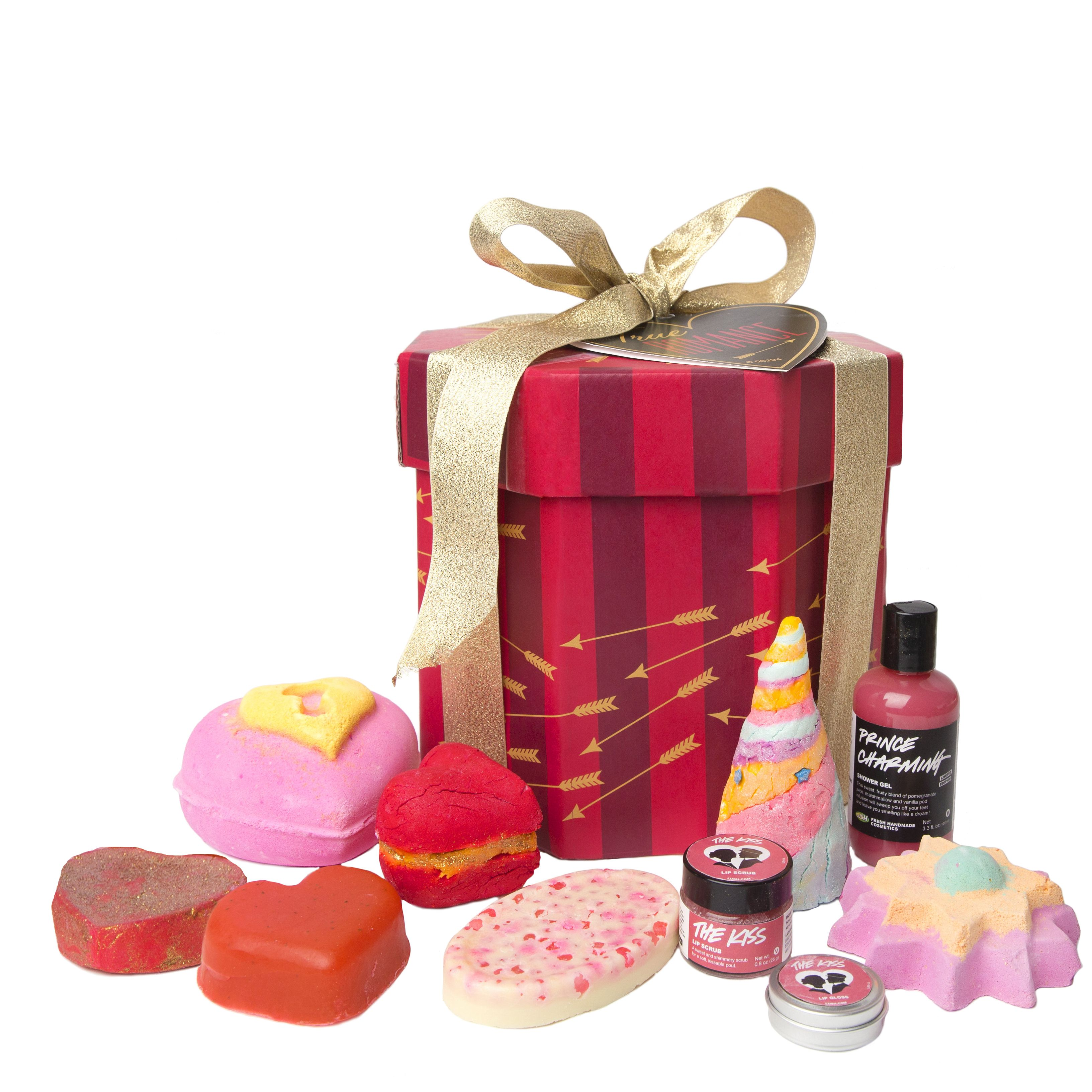 Lush Cosmetics - True Romance Gift - If you're looking to make a big impression this Valentine's Day, True Romance is the gift for you!