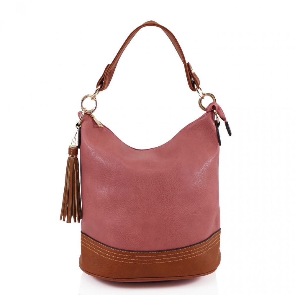 ... LD18620 Faux Fur Shoulder Bag  promo code 1f395 67ce6 New Tassel  Adornment Bucket Style Ladies Women Cross Body Shoulder Women Bags ... c5656f3536022