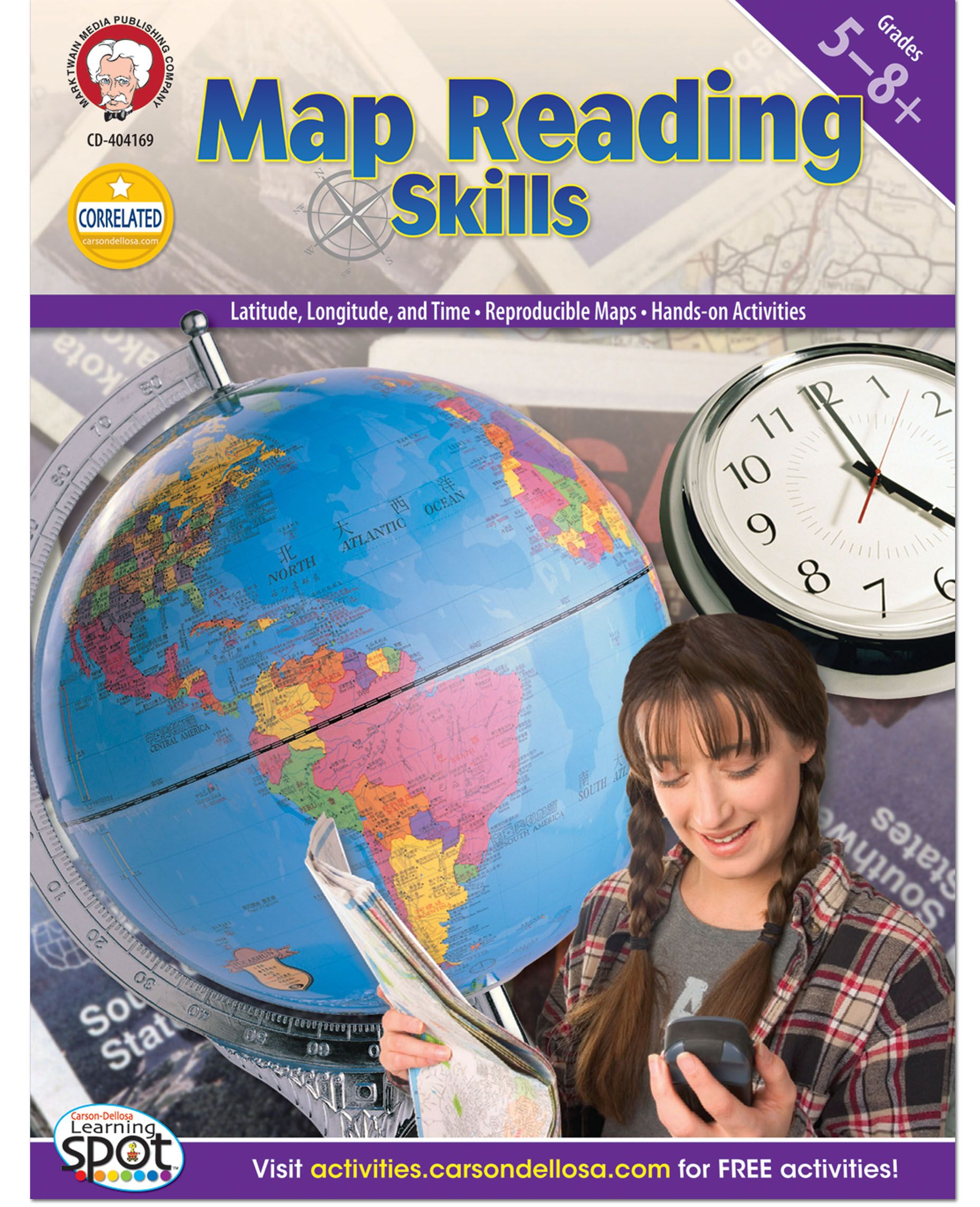 Map Reading Skills Is A Great Way To Reinforce Geography Lessons While Also Developing Map