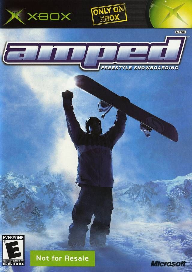 Amped Snowboarding Xbox Xbox Games Snowboarding Xbox