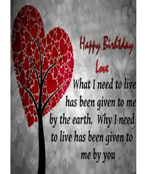 Birthday Love Quotes Interesting Happy Birthday Love  Love Quotes  Pinterest  Happy Birthday
