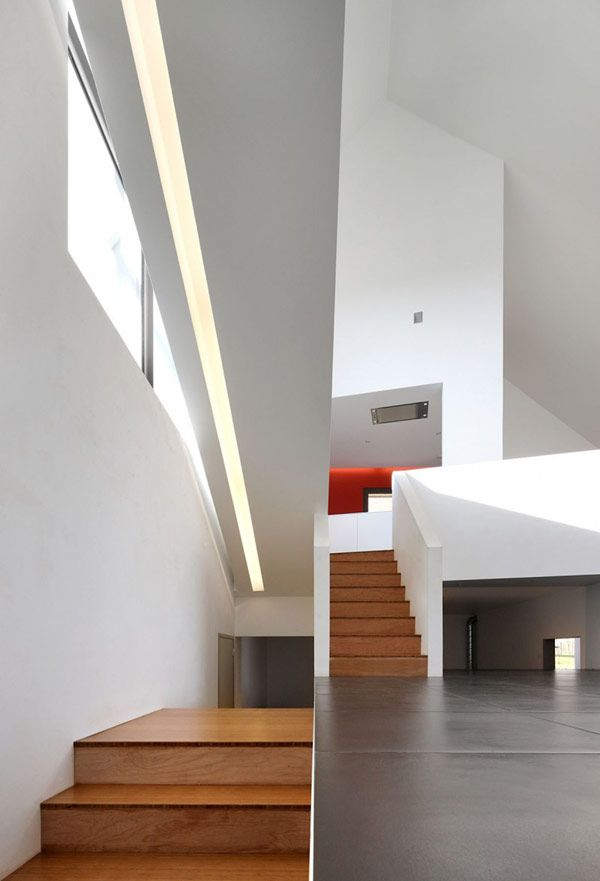 Creative Home in Belgium, Alternating Open and Closed Spaces | http ...