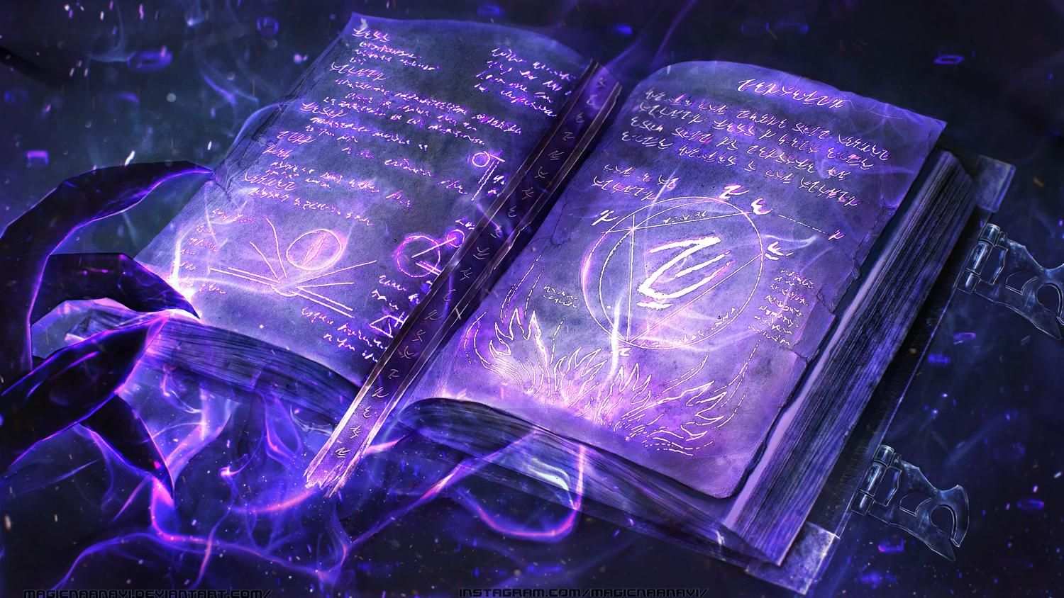Pin By Jose Augusto On Fantasy Magic Book Magic Aesthetic Magical Book