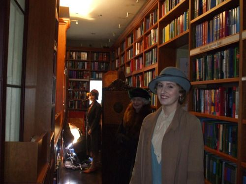 Downton Abbey Series 6 Filming at Wildy's Bookshop April 20, 2015