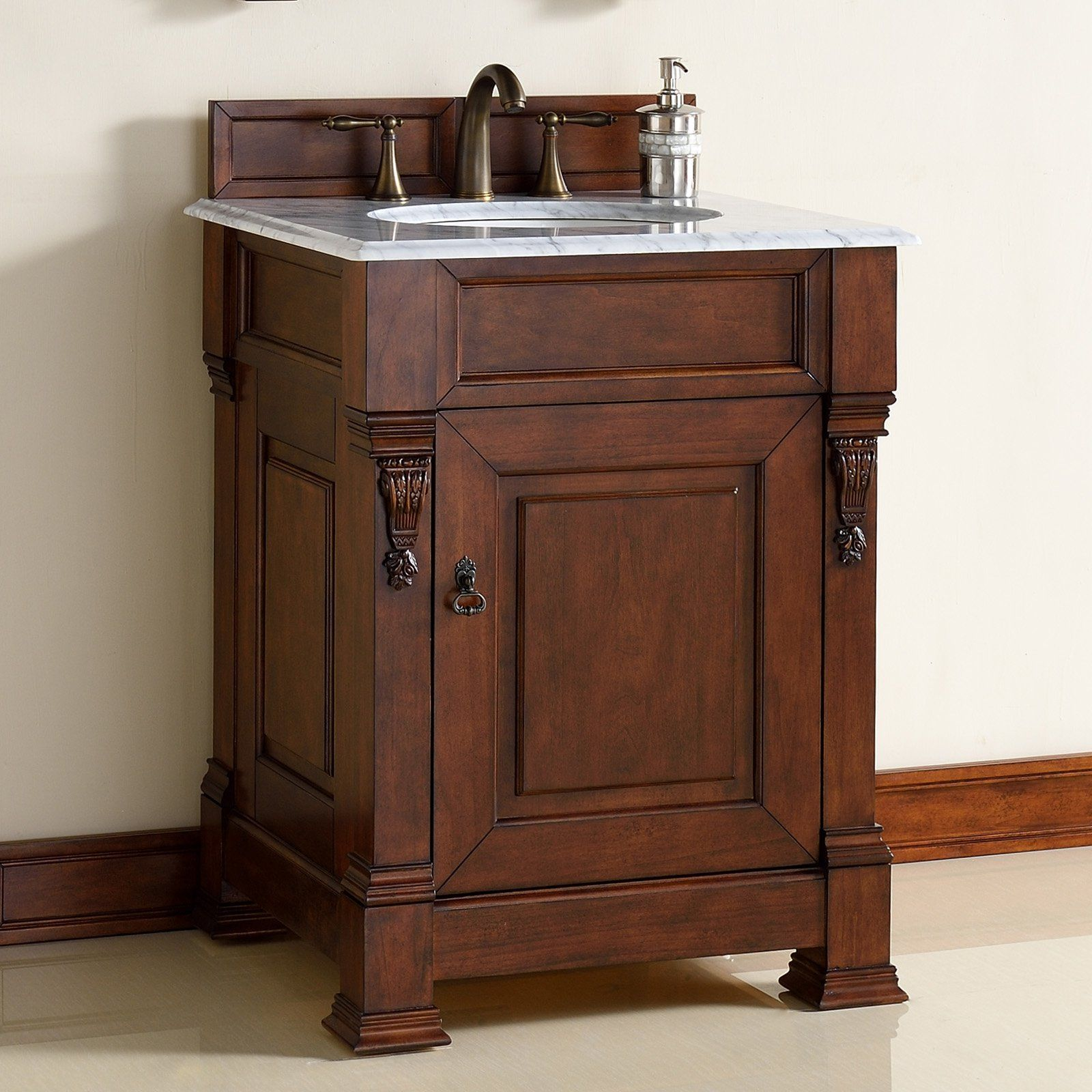 James Martin Brookfield In Single Bathroom Vanity From - 42 inch bathroom vanity top for bathroom decor ideas