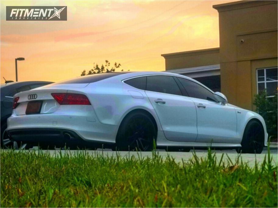 1 2012 A7 Quattro Audi Stock Stock Rotiform Spf Black Www Fitmentindustries Com Audi A7 Quattro Audi Audi A7