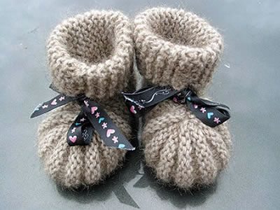 BABY BOOTIES KNITTING PATTERNS | FREE PATTERNS | Knitting and ...