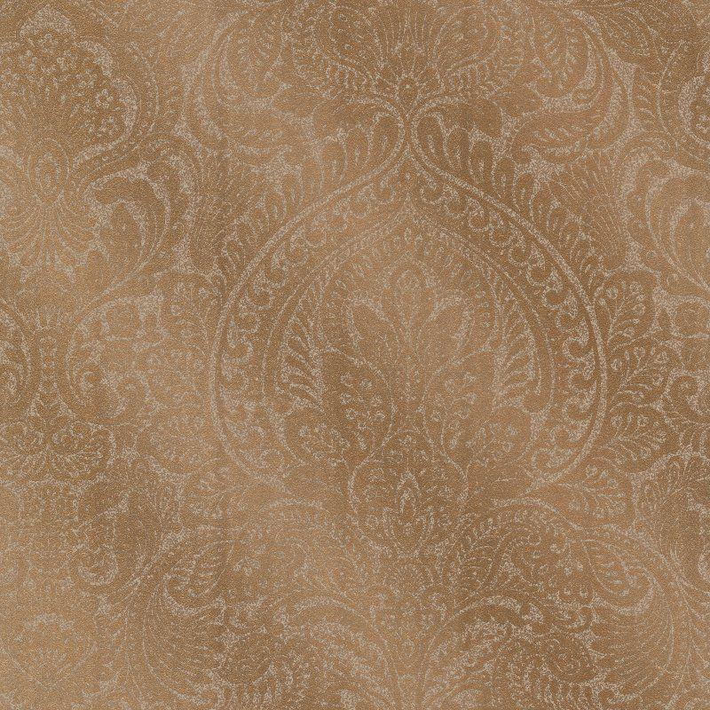 Decorline Alistair Damask Wallpaper Copper - 2665-21408