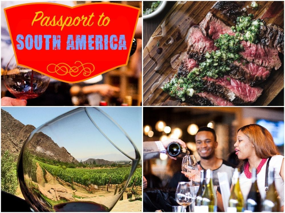 Passport to South America A Wine &Food Tasting Experience