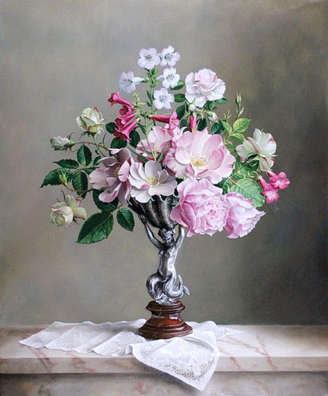 0_f22ef_c5128893_orig (663×800)   Акварельные цветы ...