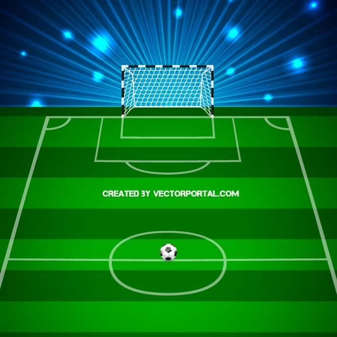 Soccer Pitch Vector Football Pitch Soccer Image