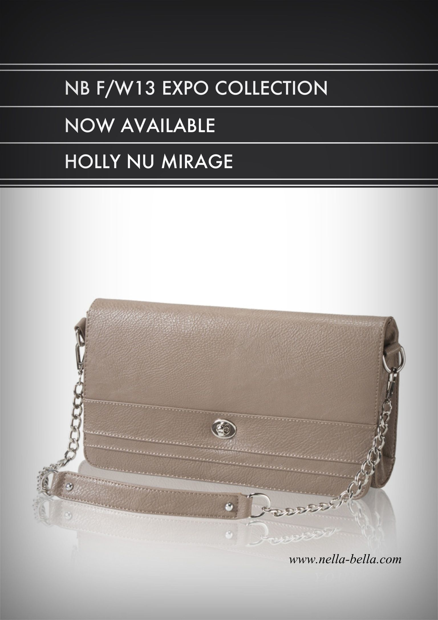 Holly Nella Bella F/W13 Expo Collection  #clutch #handbags