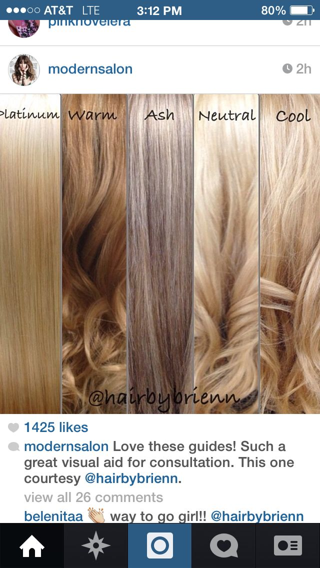 The Difference In Tonality Pinterest Hair Coloring