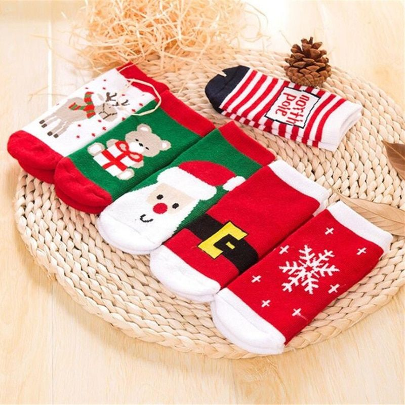 Christmas Socks For Baby Girls And Boys Baby Girl Socks Christmas Socks Kids Socks