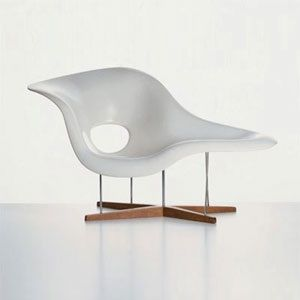 La Chaise By Charles Ray Eames For Vitra Is Suitable Both Sitting And Lying On